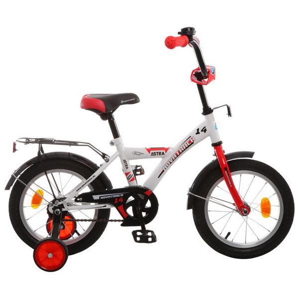 """Велосипед 14"""" Novatrack Astra белый"""