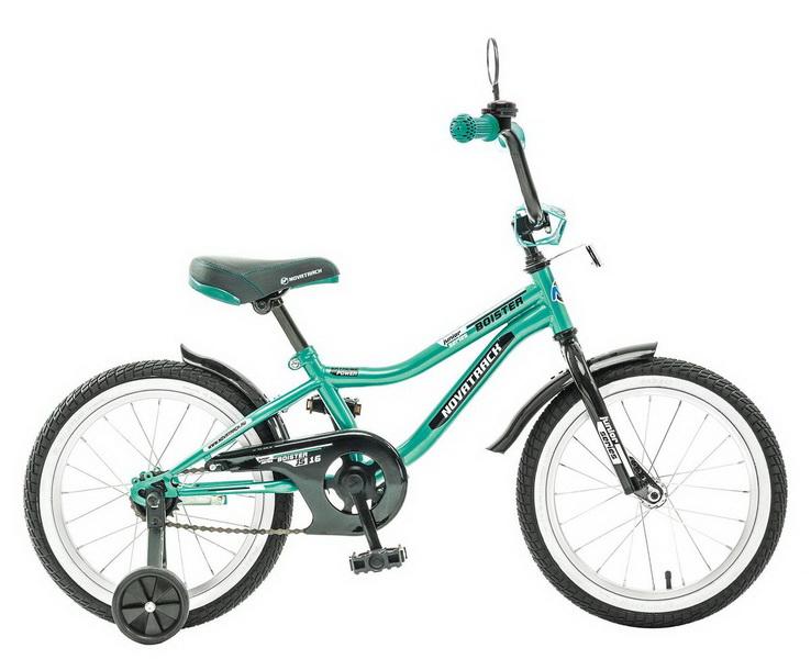"Велосипед 20"" Novatrack Boister зелёный"