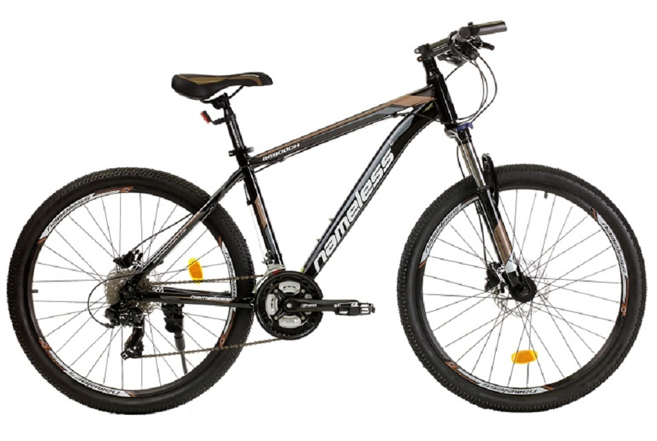 """Велосипед 26"""" Nameless G6900DH (17"""") 21ск, AL, Disc, чёрно-серый"""