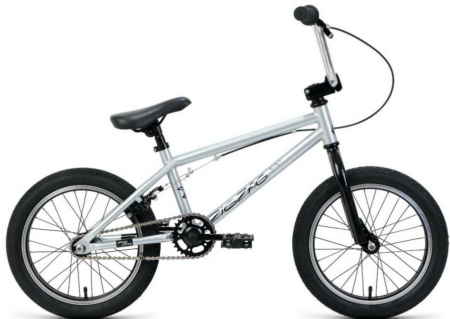 """Велосипед 16"""" Forward ZigZag, серо-чёрный   скидка 25%"""