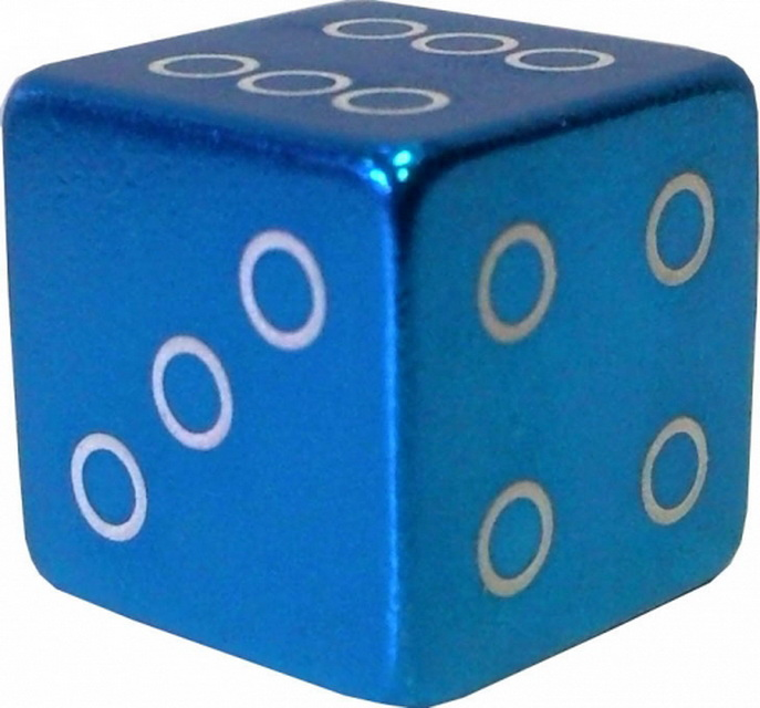 Колпачок (декоративный) A/V AL Primeaero, NZ-18, куб синий
