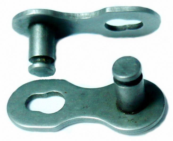 Цeпь  замок цепи  7-6ск (имп.) серый   ч