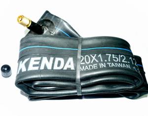 "Kenda велокамера 20""х1.75/2.125 (406-47/57) 1,2мм A/V-33мм BMX   а"
