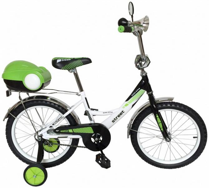 """Велосипед 14"""" Black Aqua Street KG1419 зелёный"""