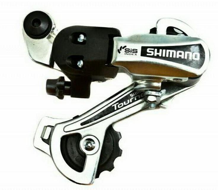 Переключатель задний Shimano RD-TY 21A-GS 6ск. Toyrney серебристый