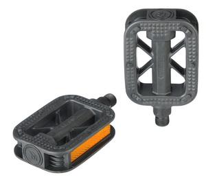 Педали FP-810 пластиковые, чёрные