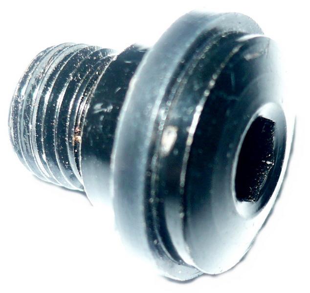 Болт крепления переключателя заднего М10   ч  (1мм)