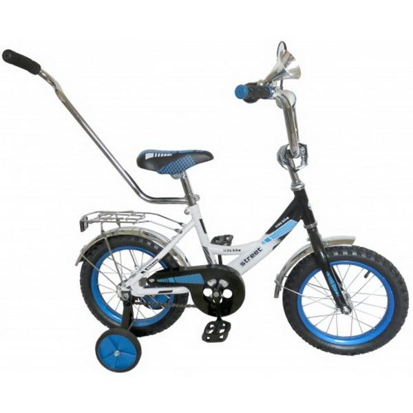 "Велосипед 20"" Black Aqua Street KG2019 синий"