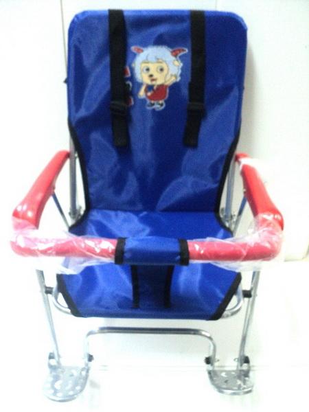 Седло (детское кресло), крепление на багажник, KangTong, ТС-162, St, складное   ч