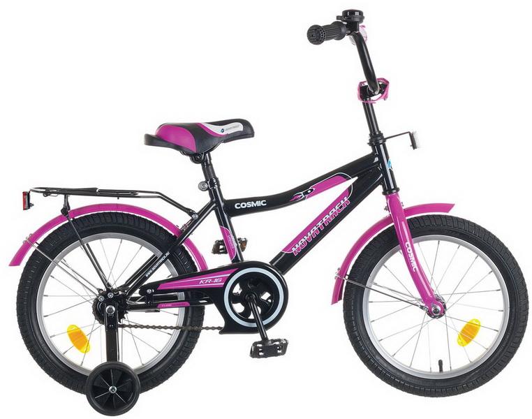 """Велосипед 14"""" Novatrack Cosmic чёрный"""