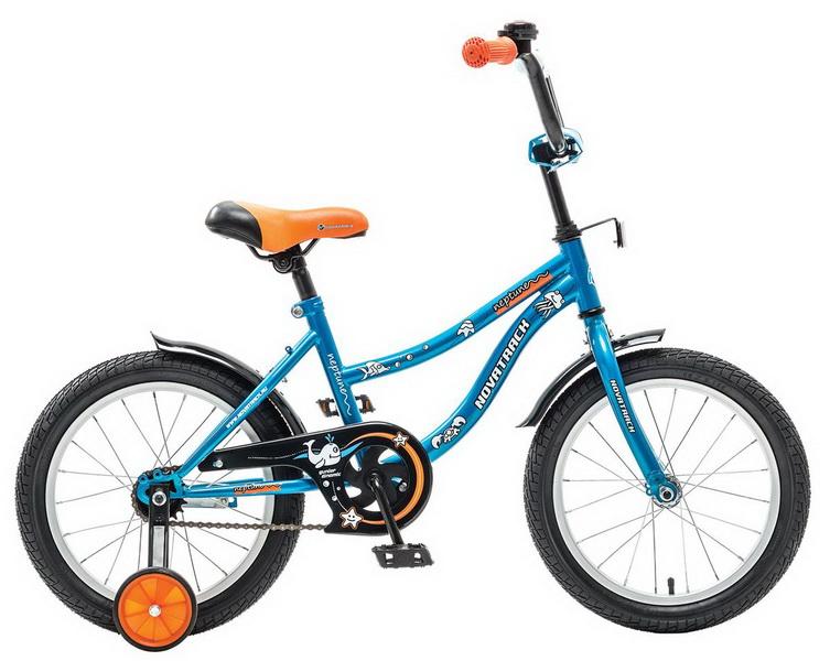 """Велосипед 20"""" Novatrack Neptune, синий"""