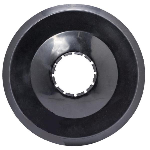 Компоненты Защита звезды задней пластиковая, Ø133,5мм, чёрная   д