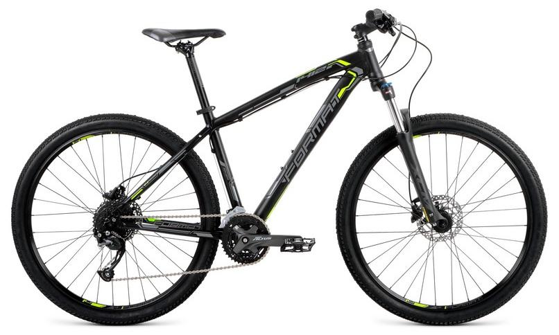 """Велосипед 27.5"""" Format 1412 (S"""") 27ск, AL, Disc, чёрный, модель 2018"""