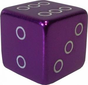 Колпачок (декоративный) A/V AL Primeaero, NZ-18, куб фиолетовый *