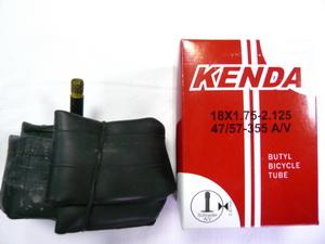 "Kenda велокамера 18""х1.75/2.125 (355-47/57) 0.87мм A/V-33мм (510305/511334)"
