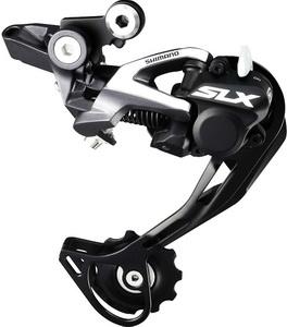 Переключатель задний Shimano RD-M675-SGS 10ск. SLX, Shadow plus чёрный