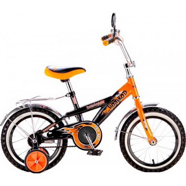 """Велосипед 14"""" Black Aqua Hot-Rod KG1406 оранжевый, 2017г."""
