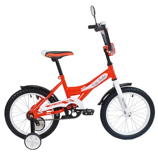 """Велосипед 14"""" Black Aqua Wily Rocket KG1408 оранжевый"""