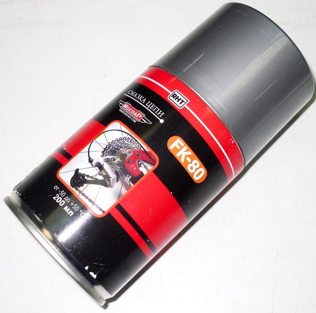 Смазка Idevar, FK-80 для цепи, аэрозоль, 200мл (+50/-50C)   i  **