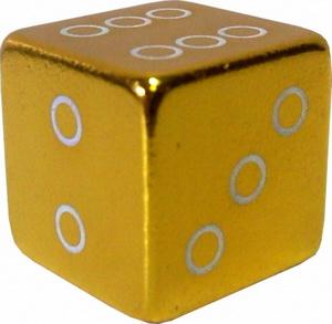Колпачок (декоративный) A/V AL Primeaero, NZ-18, куб золотистый