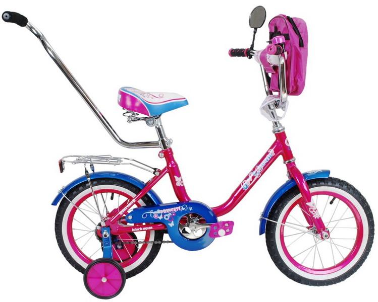 """Велосипед 12"""" Black Aqua Princess KG1202 розовый"""
