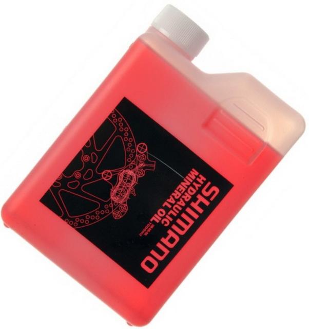Жидкость тормозная, Mineral, Shimano SM-DB-OIL (масло минеральное), для гидравлических  тормозов (1мл-1гр)