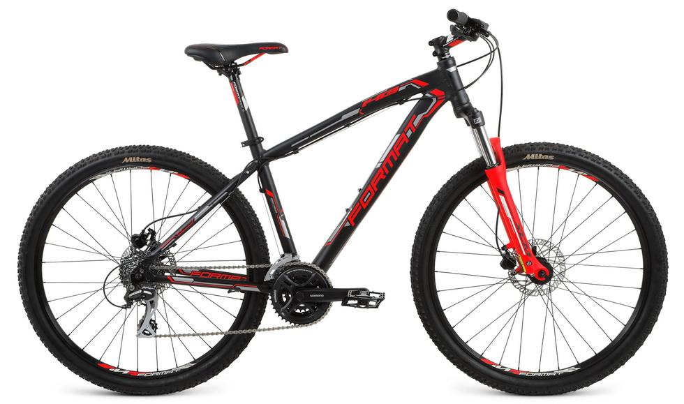 """Велосипед 27.5"""" Format 1413 (L"""") 24ск, AL, Disc, чёрный"""