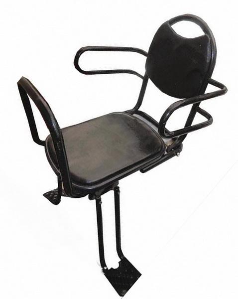 Седло (детское кресло), крепление на багажник, ТС-159 , AL + пластик   ч