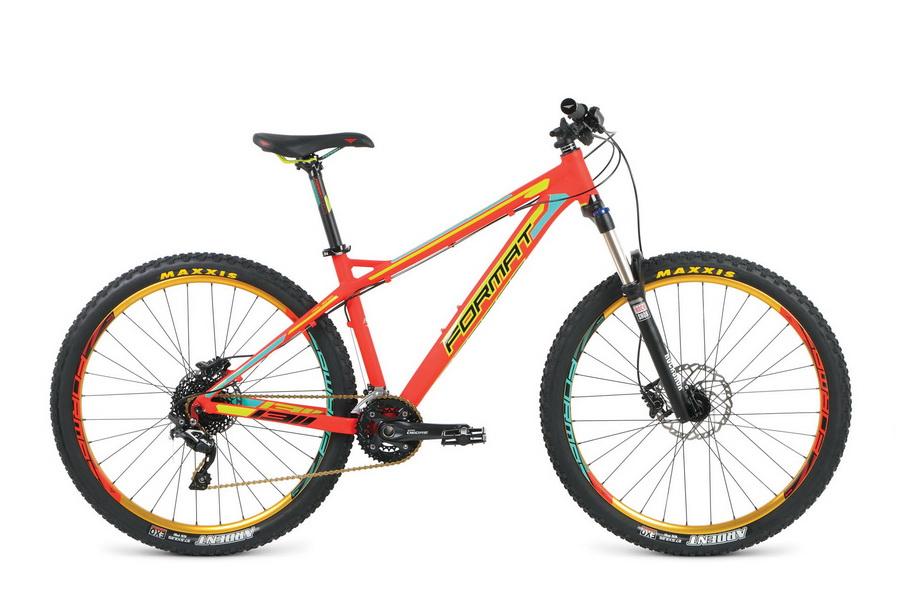 """Велосипед 27.5"""" Format 1311 Elite (M"""") 20ск, AL, Disc, красный, модель 2016"""