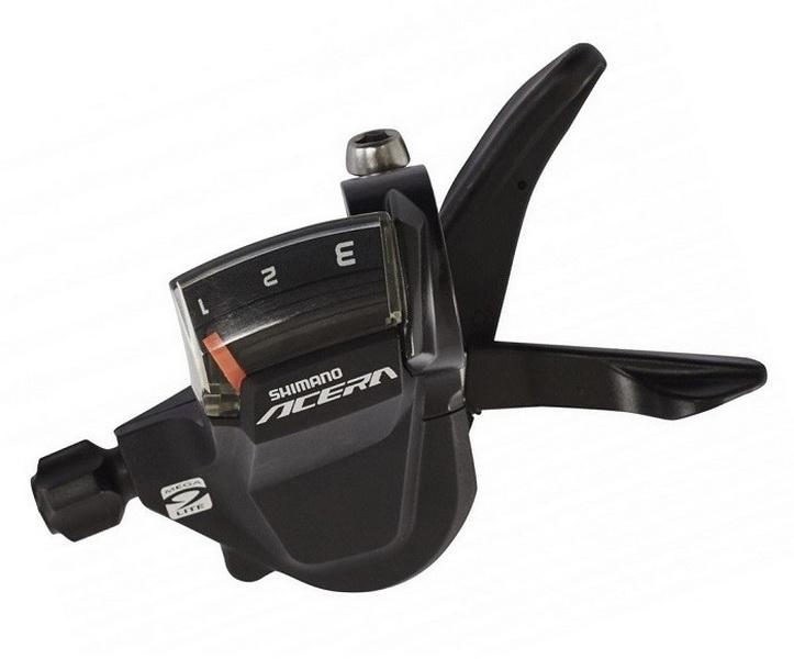 Шифтер Shimano SL-M3000 3ск Acera, чёрный