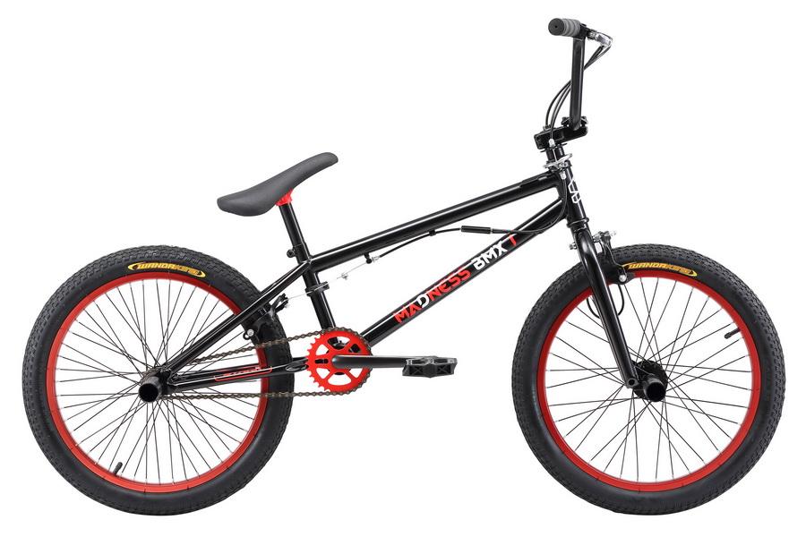 """Велосипед 20"""" Stark BMX 1 Madness, St, чёрно-красный, модель 2017"""
