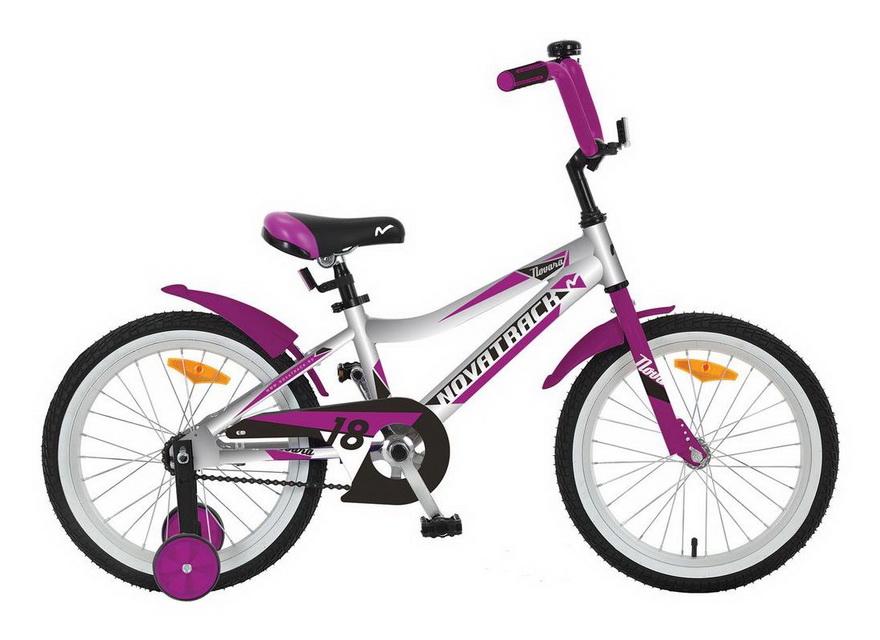 """Велосипед 16"""" Novatrack Novara, алюминиевая рама, серебристый"""