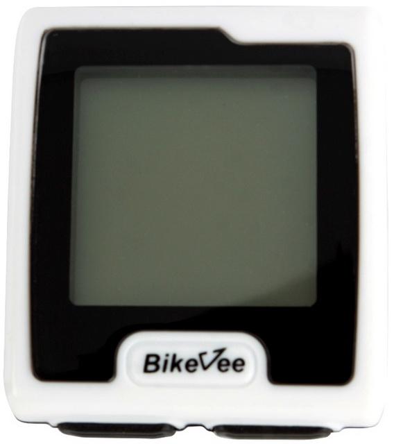 Велокомпьютер Bike Vee, BKV-7000, 9 функций, беспроводной, с подсветкой, белый   ф