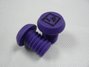 "Грипстоппер Velo ""VB"" VLP-87 литой, кратон, аналог ""ODI"", фиолетовый"