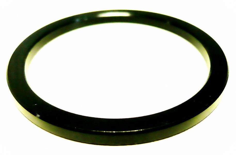 """Кольцо рулевой колонки 1-1/2"""" H=3мм FSA AL, чёрное"""