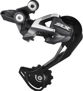 Переключатель задний Shimano RD-M670-SGS 10ск. SLX, Shadow чёрный