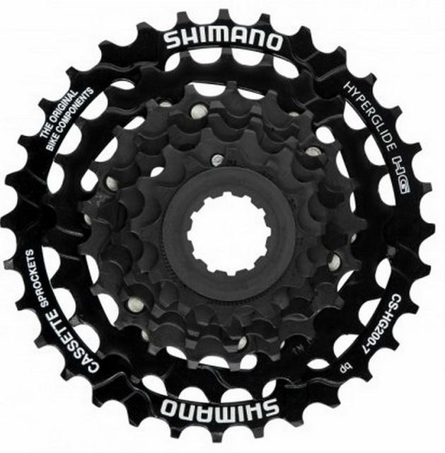 Кассета  7ск 12-32T Shimano CS-HG200 Tourney