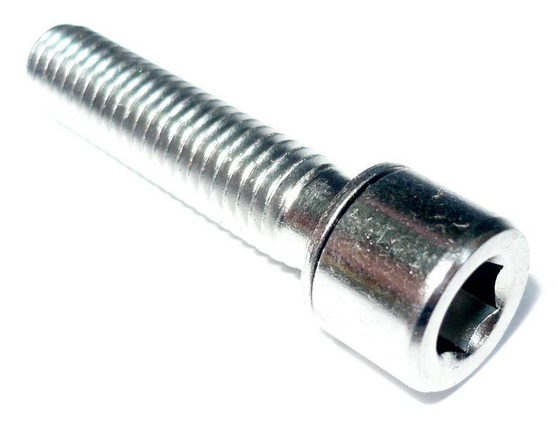 Болт выноса М6х28мм, Tai Luo TL-109A1, с шайбой, хром  а