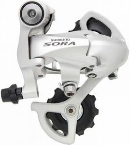 Переключатель задний Shimano RD-3400-SS 9ск. Sora серебристый