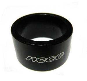 "Кольцо рулевой колонки 1-1/8"" Н=20мм Neco AS3620 AL, чёрное   а"