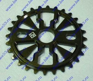 "Звезда BMX 28Т 1/2""х1/8"" 7мм VB VB-ST01-60 фрезерованная, AL-6061 T6, коричневая"