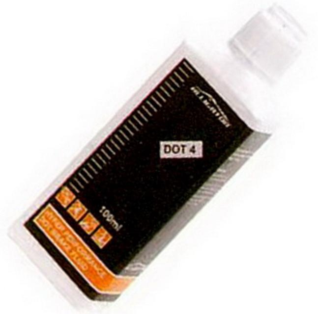 Жидкость тормозная, DOT 4.0, Alligator, для гидравлических тормозов, 100мл