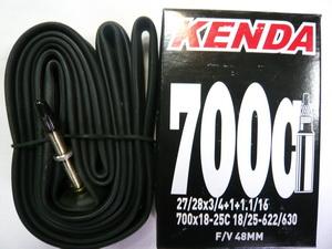Kenda велокамера 700х18/25 (622/630-18/25) 0.87мм presta F/V-48мм (511291)