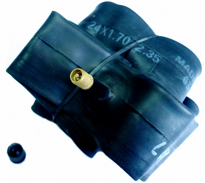 "Hutchinson велокамера 24""х1.7/2.35 (507-44/60) А/V-32мм CV657211   а"