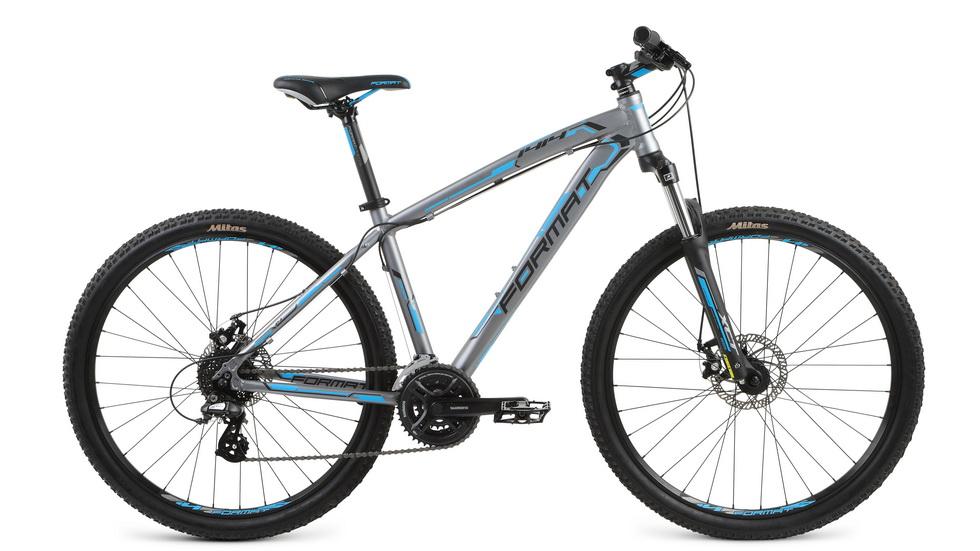 """Велосипед 27.5"""" Format 1414 (M"""") 24ск, AL, Disc, серый, модель 2017"""