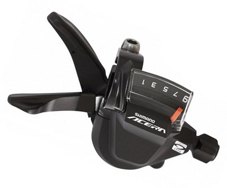 Шифтер Shimano SL-M3000 9ск Acera, чёрный
