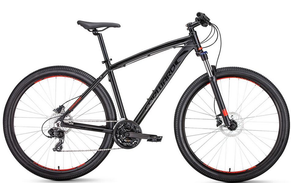 """Велосипед 29"""" Forward Next 3.0 (19"""") 24ск, AL, Disc, чёрный, 2019г."""