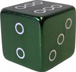 Колпачок (декоративный) A/V AL Primeaero, NZ-18, куб зелёный