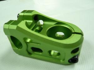 """Bынос ВМХ 1-1/8""""  50х00°х Ø22.2 VB, Overdrive, VB-OV-B, AL6061, фрезерованный, зелёный  **"""