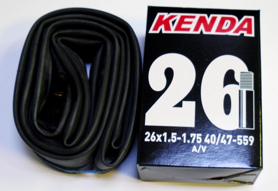 "Kenda велокамера 26""х1.5/1.75 (559-40/47) 0.87мм A/V (511362/510322)"